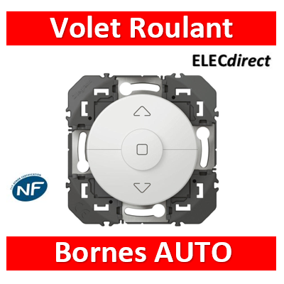 Legrand - Commande de volets roulants dooxie finition blanc - 600021