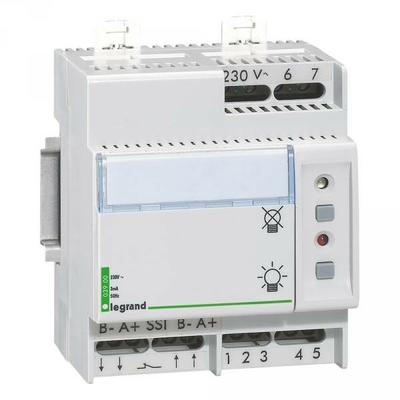 Legrand - Télécommande Lexic multifonction non polarisée - jusqu'à 300 blocs - 4 mod - 003900