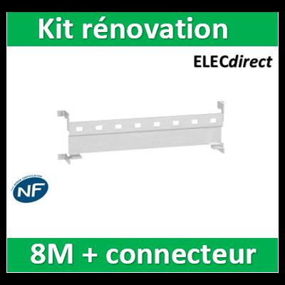 SCHNEIDER - Resi9 xe - kit rénovation embrochable universel - 8M - avec connecteur - R9EXHR08