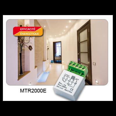 Yokis - Télérupteur Temporisé 2000W encastrable - MTR2000E