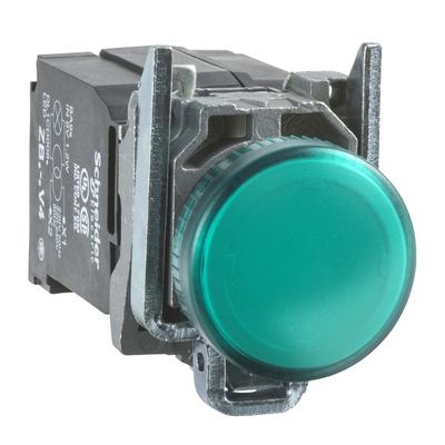Harmony - voyant rond Ø22 - IP66 - vert - LED intégrée - 240V - XB4BVM3