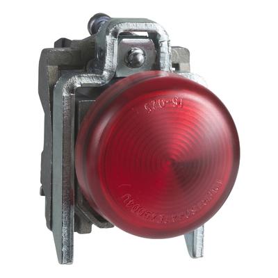 Schneider - Harmony voyant rond Ø22 - IP66 - rouge - LED intégrée - 230V - XB4BVM4
