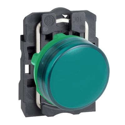 Schneider - Harmony voyant rond Ø22 - IP66 - vert - LED intégrée - 240V - XB5AVM3