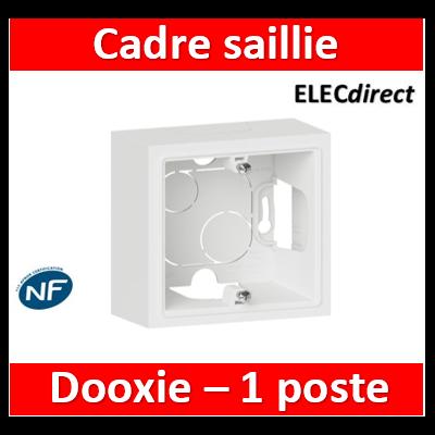 Legrand Dooxie - Cadre saillie 1 poste - 600041