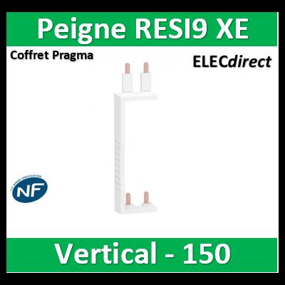 Schneider - Resi9 XE Peigne vertical 2 rangées entraxe 150mm pour Différentiel XE (AUTO) - R9EXV150