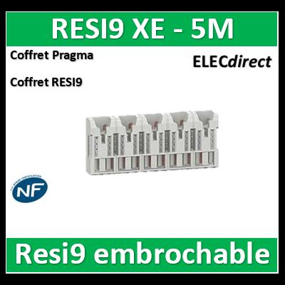 SCHNEIDER répartiteur RESI9 XE 10pas 5m sans connecteur - R9EXHS05
