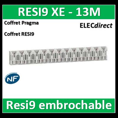 SCHNEIDER répartiteur RESI9 XE 26pas 13m sans connecteur - R9EXHS13