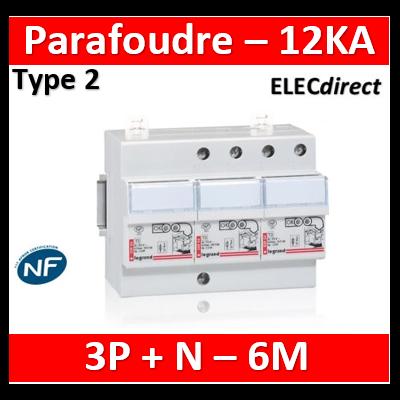 Legrand - Parafoudre basse tension protégé monobloc tétra - type 2 - 003953