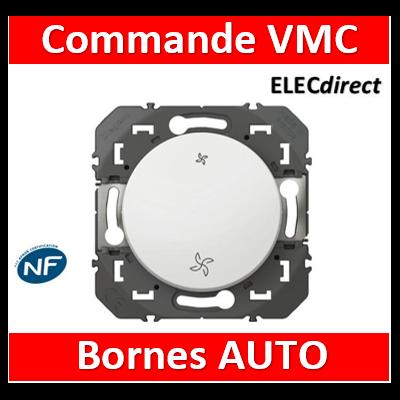 Legrand - Commande VMC dooxie finition blanc - 600006