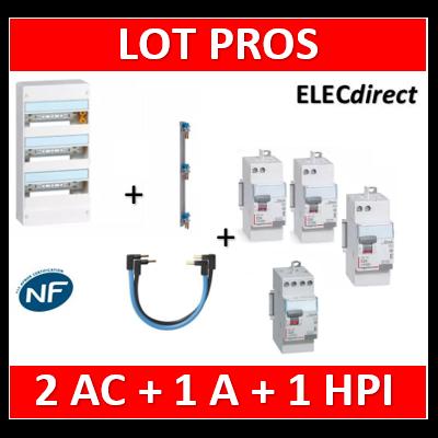 Legrand - LOT PROS - 401213+405001+411650x2+411651+411623+404903