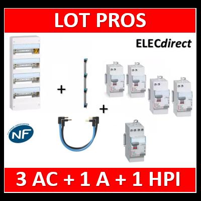 Legrand - LOT PROS - 401214+405002+411650x3+411651+411623+404903