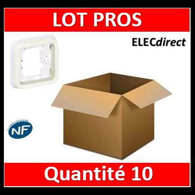 Legrand Plexo - Support encastrable pour Plexo composable - 1 poste - blanc - 069692x10