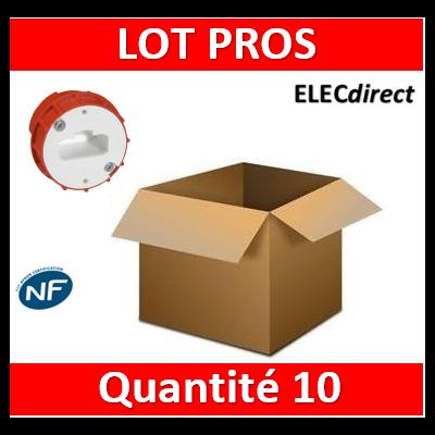 Legrand Batibox - Boîte à sceller - Couvercle DCL pour applique borne AUTO - 089204x10