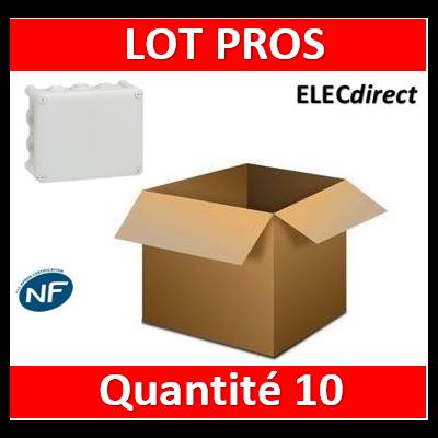 Legrand - Boîte de dérivation étanche IP55 - 220x170x86 - 092062x10