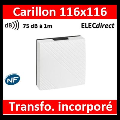 Legrand - Carillon 230V avec transfo. incorporé - 041652