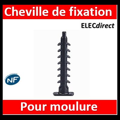 Legrand - Cheville à fixation immédiate pour moulure DLPlus par 100 - 030898