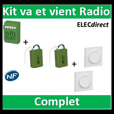 Yokis - Kit va et vient radio Odace - MTR2000ERP+E2BPPx2+S520204x2+S520702x2