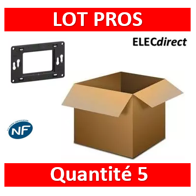 Legrand - Support universel pour 3 modules - 080259x5