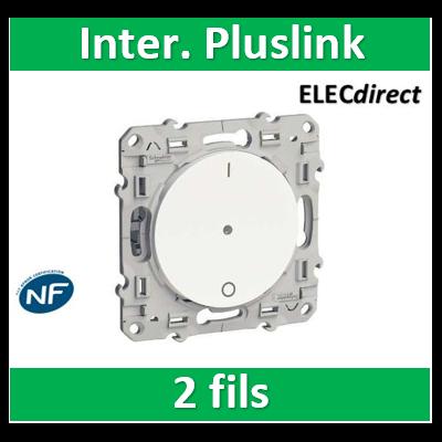 Schneider Odace - Blanc, interrupteur électronique 2 fils PlusLink 2W- s520566