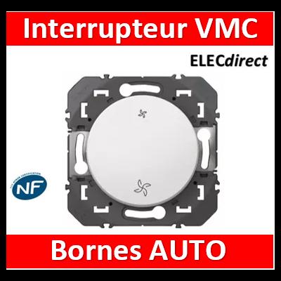 Legrand - Commande VMC interrupteur dooxie finition blanc - 600007