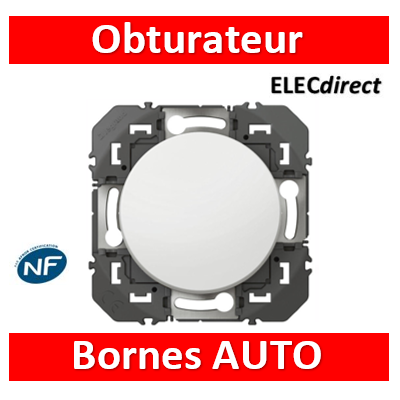 Legrand - Obturateur dooxie finition blanc - 600044