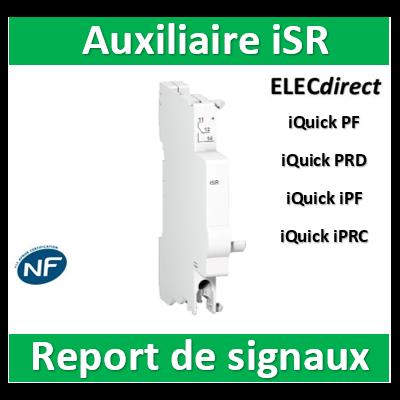 Schneider - Acti9, iSR auxiliaire report de signalisation - A9L16619