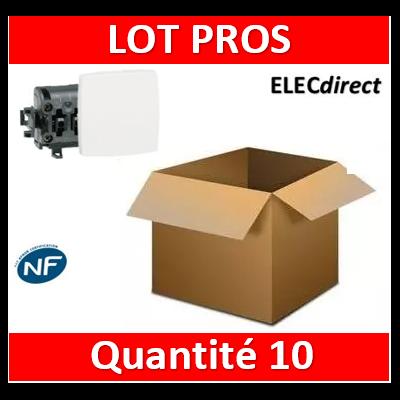 Legrand Oteo - Poussoir 6A - 230V - 086106x10