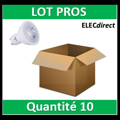 Vision EL - Lampe LED 7W - Dimmable - 4000K - 580 lumens - GU10 230V - 78192x10