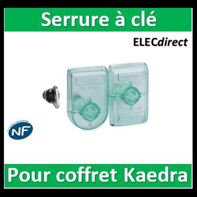 Schneider - Kaedra - accessoire de coffret - serrure à clé - Eurolocks n° 850 - 13948