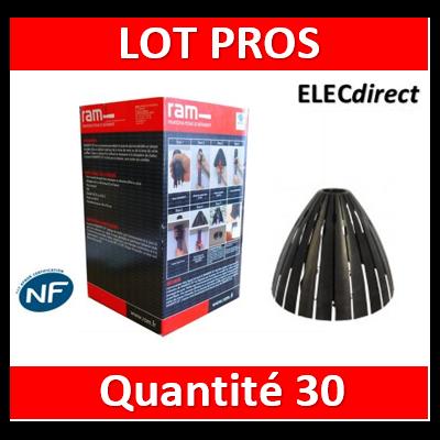 Ramspot - Boîte de 30 Protecteurs de spot pour laine soufflée - 59205 x30