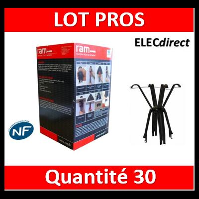 Ramspot - Boîte de 30 Protecteurs de spot pour laine de verre ou de roche en rouleau - 59202 x30