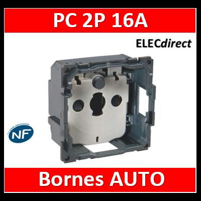 Legrand Céliane - Mécanisme PC 2P 16A - 067110