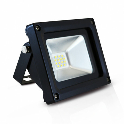 Vision EL - Projecteur LED 10W Noir 6000K - IP65 - 800113