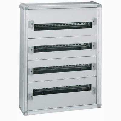 Legrand - Coffret distribution métal XL³160 tout modulaire 4 rangées 750x575x147mm - 96 modules - 020004
