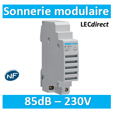 HAGER - Sonnerie modulaire 230V - SU213