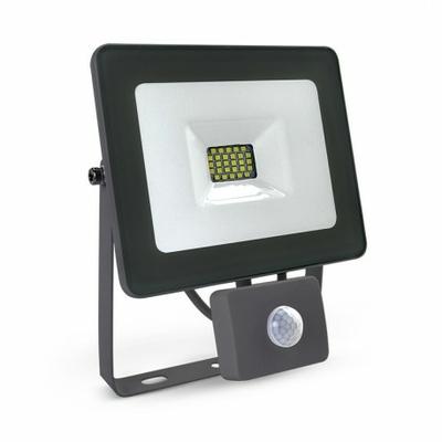 Vision EL - Projecteur Exterieur LED Gris avec Détecteur 20W 6000°K - 80311