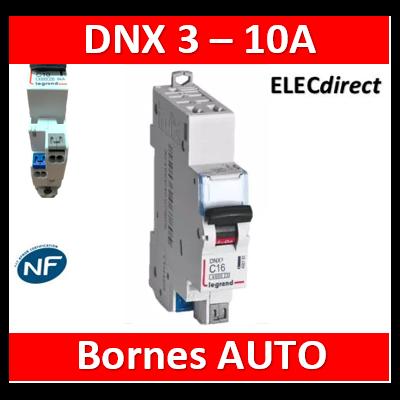 DISJONCTEUR LEGRAND DNX3 PH/N10A - AUTO/AUTO - 406782