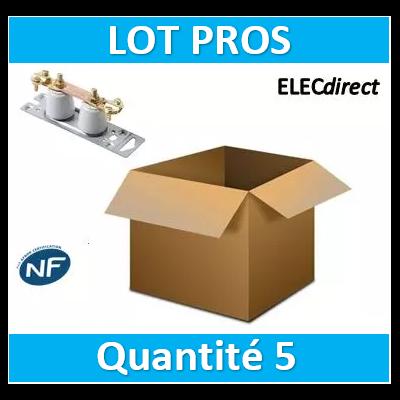 SIB - LOT PROS - Barrette de coupure de terre porcelaine - 04388x5