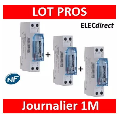 Legrand - Interrupteur horaire journalier analogique - 412780x3
