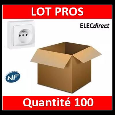 Legrand Oteo - Prise de courant 2P+T 16A - 230V - 086027x100