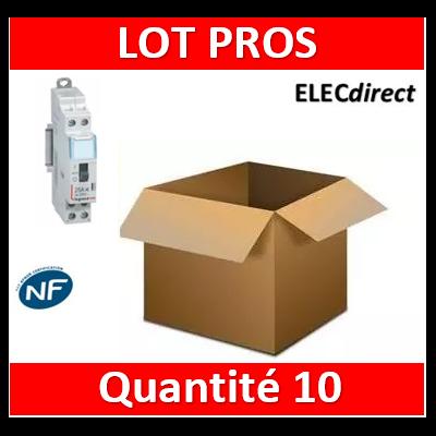 Legrand - LOT PROS - Contacteur jour/nuit - 230V - 412501x10