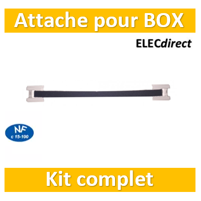 Casanova - Kit de fixation pour box internet - ADH30BOX