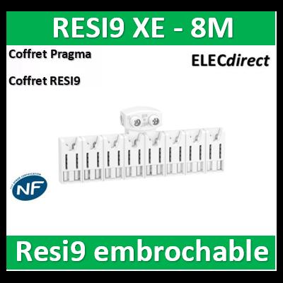 SCHNEIDER répartiteur RESI9 XE 8m avec connecteur - R9EXHC08