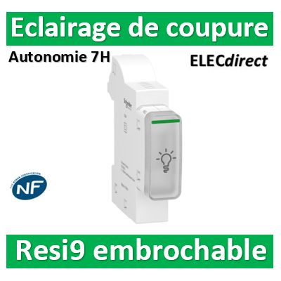 Schenider - Resi9 XE - éclairage de coupure - R9ECL