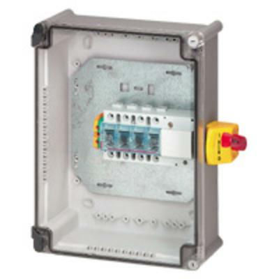 Coffret de proximité 125A IK07 3P avec interrupteur-sectionneur Vistop et bornier de terre Viking 3 - 022633