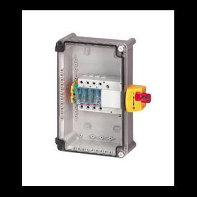 Coffret de proximité 100A IK07 3P avec interrupteur-sectionneur Vistop et bornier de terre Viking 3 - 022625