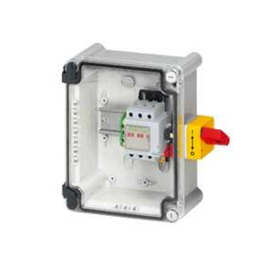 Coffret de proximité 32A IK07 3P avec interrupteur-sectionneur Vistop et bornier de terre Viking 3 - 022605