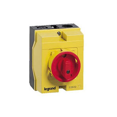Coffret de proximité 25A IK07 3P+N pour coupure ou sectionnement d'un moteur 1 vitesse - 022602