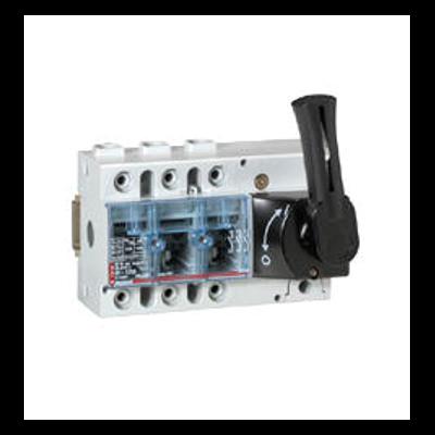 Interrupteur-sectionneur Vistop 63A - 3P avec commande frontale et poignée noire - 022512