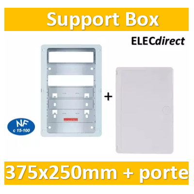 Casanova - Support BOX 375 x 250 mm + porte - ZA375C+PCST375